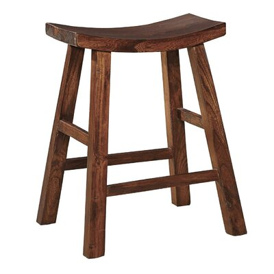 Edwards 25 Bar Stool (Set of 2) Finish: Brown Birch/Oak