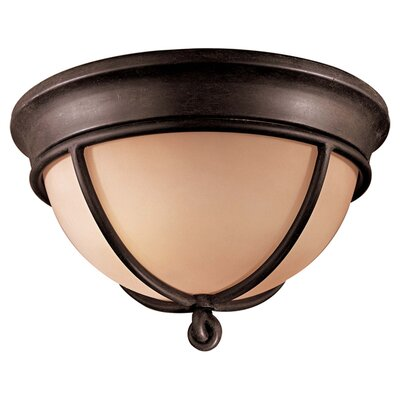 Barleria 2-Light Flush Mount