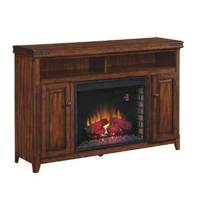 Leyden TV Stand Fireplace