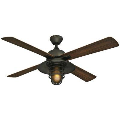 52 Roselle One-Light 4 Blade Ceiling Fan