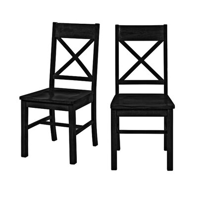 Belfort Dining Chair Dining Chair Finish: Black