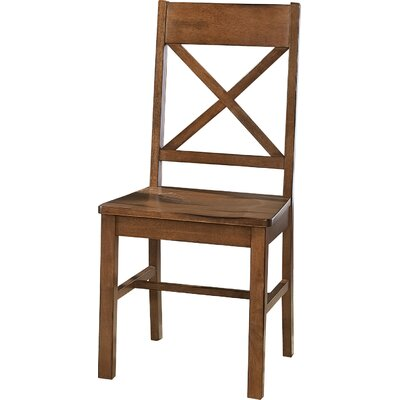 Belfort Dining Chair Dining Chair Finish: Brown