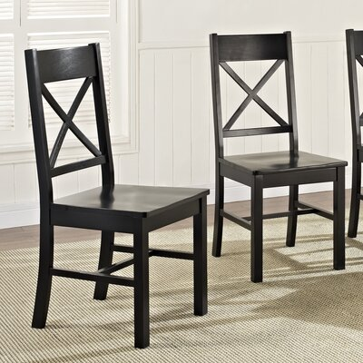 Belfort Side Chair Finish: Black