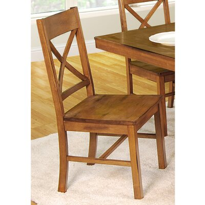 Belfort Side Chair Finish: Antique Brown