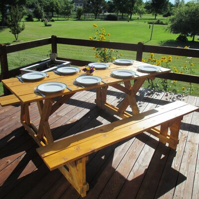 Bora Bora EZ-Access Picnic Table
