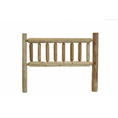 Mirren Slat Headboard Size: King, Color: Unfinished