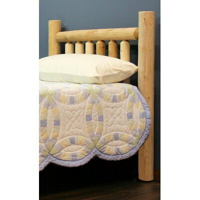 Mirren Slat Headboard Size: Twin, Color: Unfinished