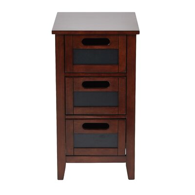 Framboise End Table Finish: Rich Saddle
