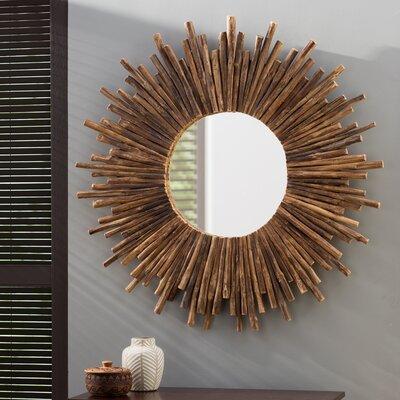 Sunburst Circular Mirror