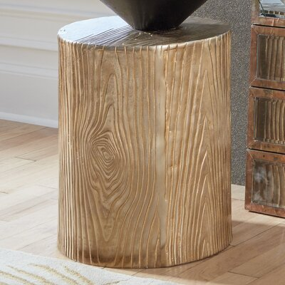 Spectre Aluminum End Table