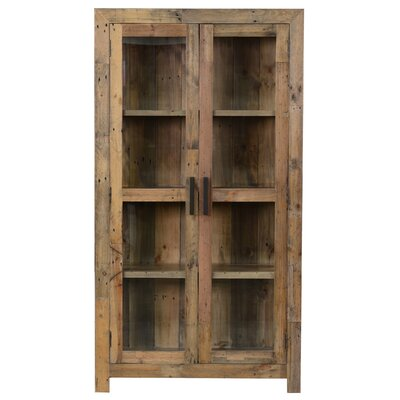 Norman Curio Cabinet Finish: Natural