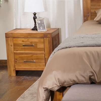 Tangle 2 Drawer Nightstand