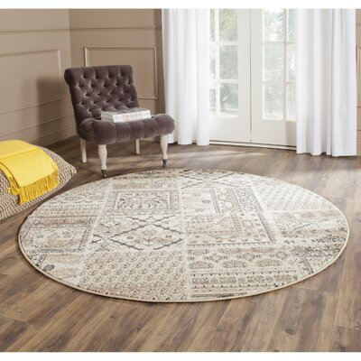 Charlie Area Rug Rug Size: Round 6