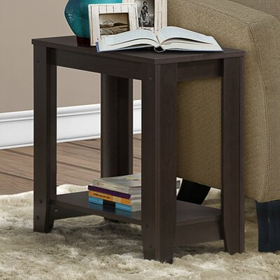 Jalen End Table Finish: Warm Cappuccino