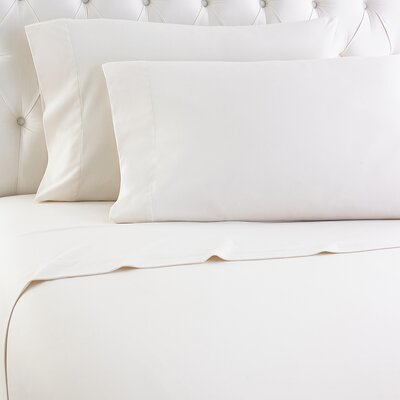 Kintla Flannel Sheet Set Color: Ivory