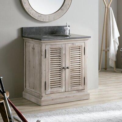 Charleen 30 Single Bathroom Vanity Set Top Finish: Gray