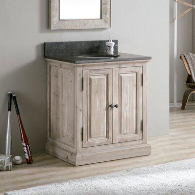 Tifton 30 Single Bathroom Vanity Set Top Finish: Gray