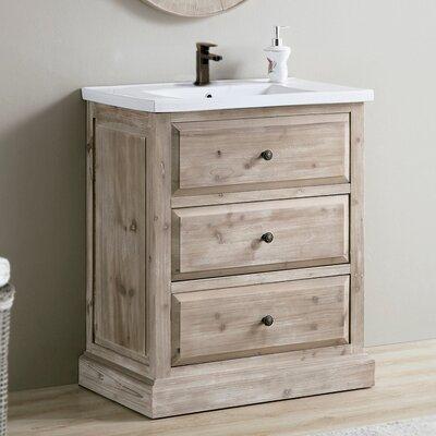 Clemmie 30 Single Bathroom Vanity Set
