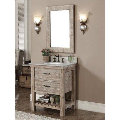 Clemmie 31 Single Bathroom Vanity Set Finish: Quartz White