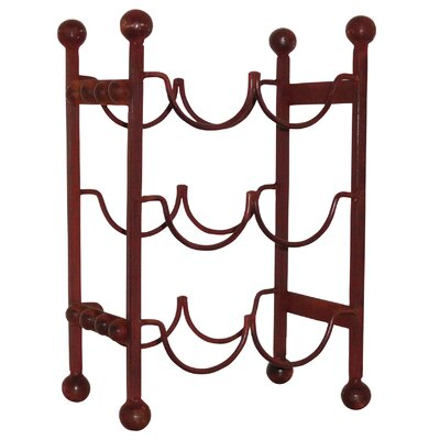 Cercis Verticle 6 Bottle Floor Wine Rack