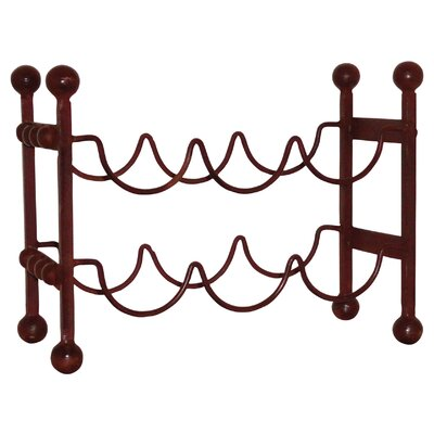 Cercis Horizontal 6 Bottle Floor Wine Rack