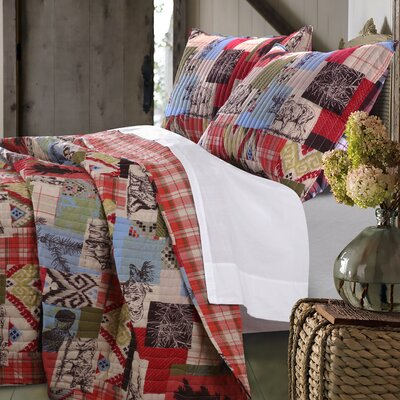 Owasco Reversible Quilt Set Size: King Quilt Set
