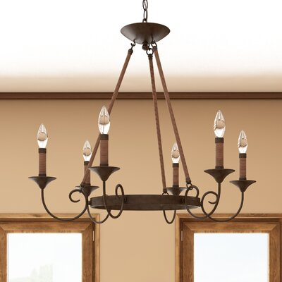 Jacy 6-Light Candle-Style Chandelier