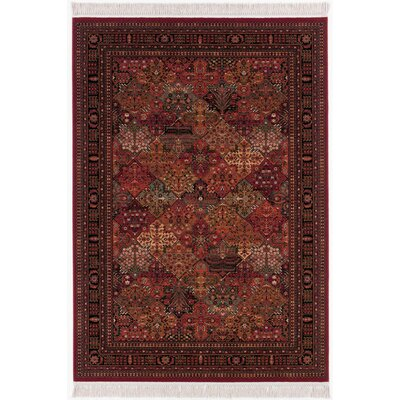 Emory Antique Red Area Rug Rug Size: Rectangle 66 x 101