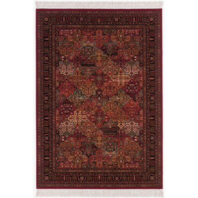 Emory Antique Red Area Rug Rug Size: Rectangle 53 x 79