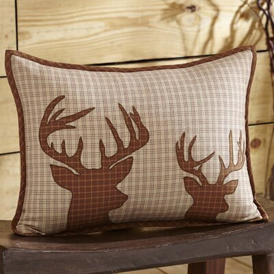 Brodick Deer 100% Cotton Lumbar Pillow