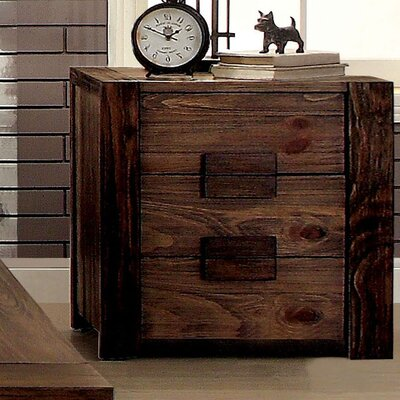 Morgana 3 Drawer Nightstand