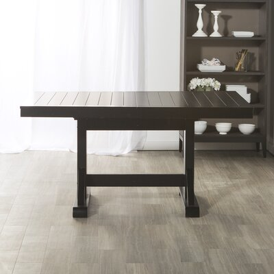 Belfort Extendable Dining Table Finish: Black