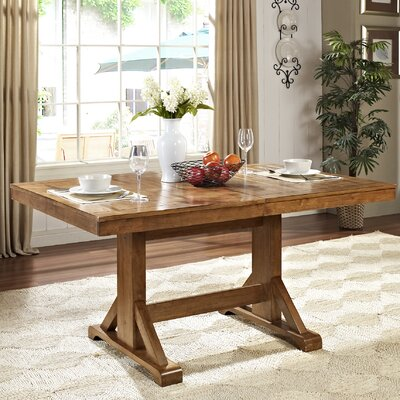 Belfort Extendable Dining Table Table Finish: Antique Brown