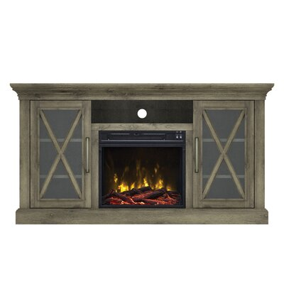 Fischer TV Stand with Electric Fireplace