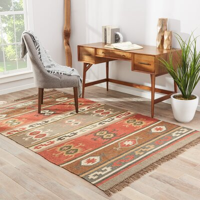 Herard Tuxtla Hand-Woven Area Rug Rug Size: Rectangle 5 x 8