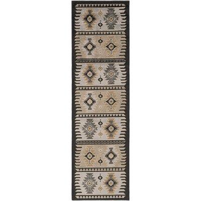 Belvedere Barley/Safari Tan Area Rug Rug Size: Runner 22 x 76