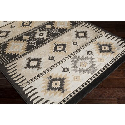 Belvedere Barley/Safari Tan Area Rug Rug Size: Rectangle 79 x 112