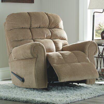 Barchetta Rocker Recliner Upholstery: Oak