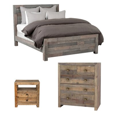 Norman Panel Bed Customizable Bedroom Set