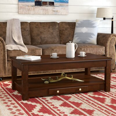 Arboles Coffee Table with Lift-Top Finish: Cherry