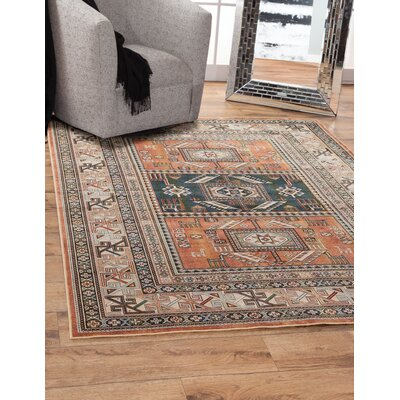 Ovid Orange Area Rug Rug Size: 710 x 112