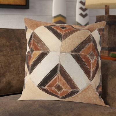 Arcata Throw Pillow Color: Beige