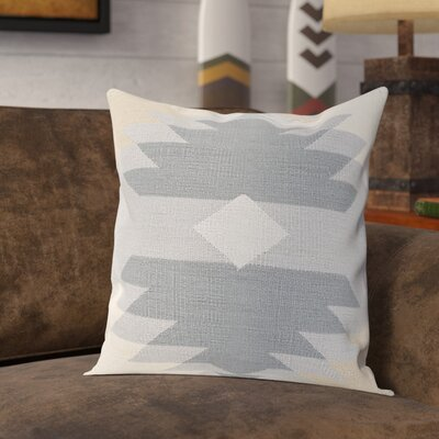 Clinard 100% Cotton Throw Pillow Cover Size: 20 H x 20 W x 1 D, Color: Gray