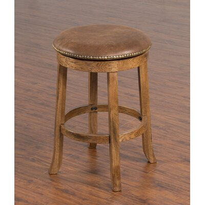 Fresno 30 Swivel Bar Stool Option: No back