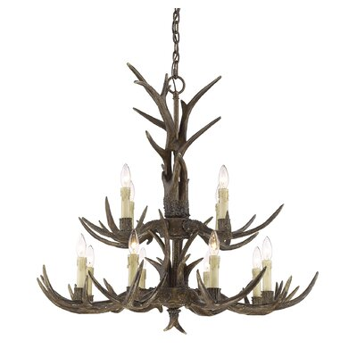 Sand Springs 12-Light Candle-Style Chandelier