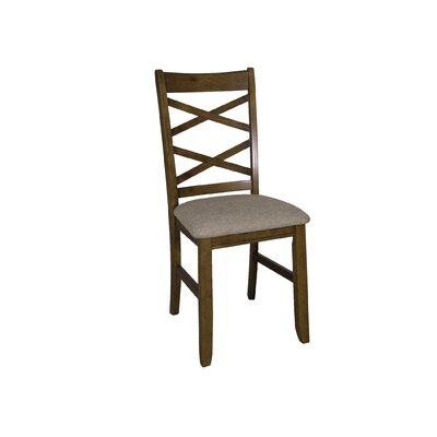 Mendota Side Chair (Set of 2) Side Chair Finish: Honey
