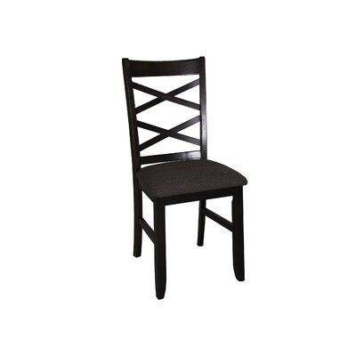 Mendota Side Chair (Set of 2) Side Chair Finish: Espresso