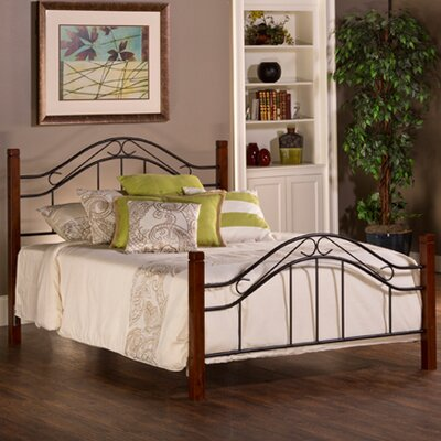 Chittim Panel Bed Size: Queen