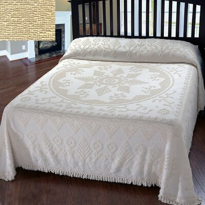 Amukta Bedspread Size: King, Color: Antique