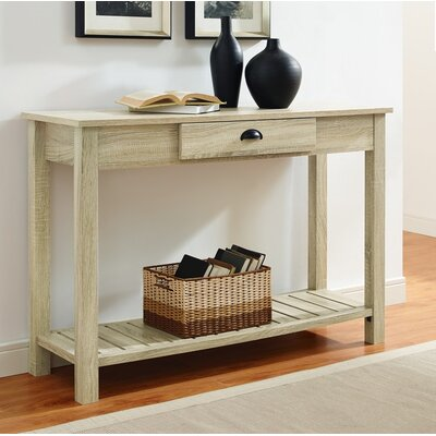 Burford Entry Console Table Finish: Natural